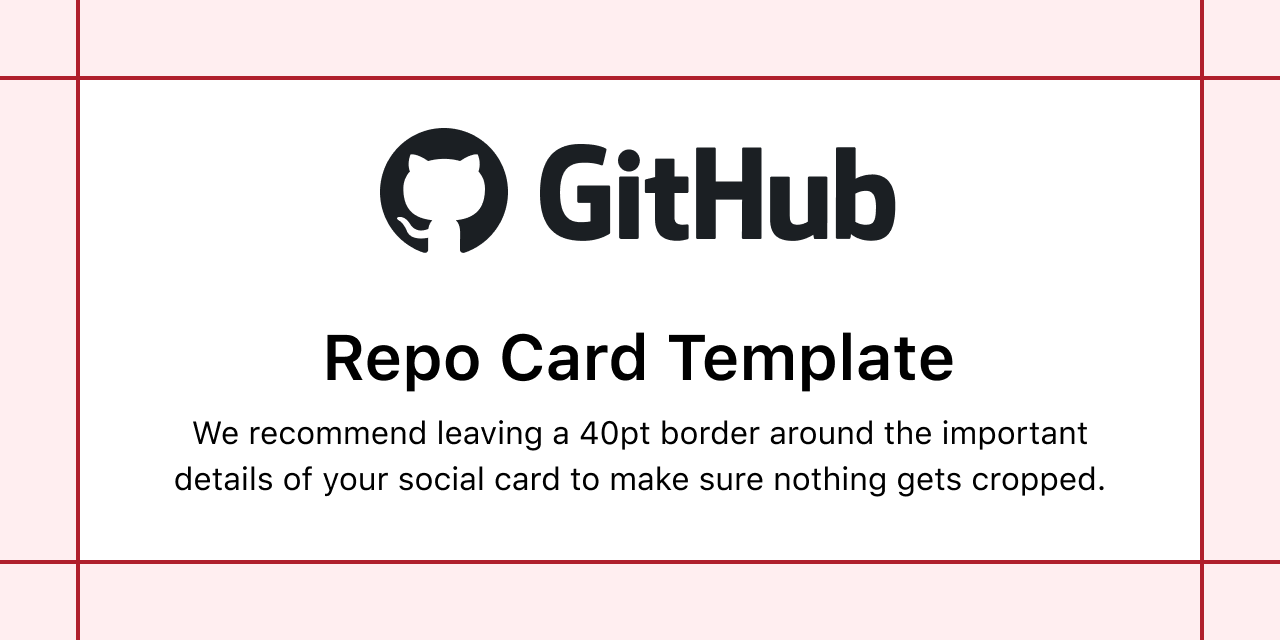 GitHub Open Graph template